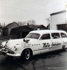1948 Buick vintage ambulance