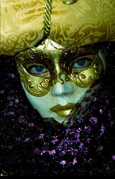 Pretty, Don't know where they have these wonderful Carnivals, but the dressing is magnificent....So say Italy and some say Mardi Gras......
