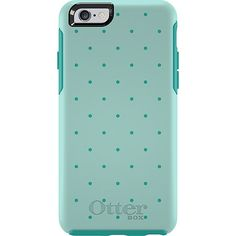OtterBox Symmetry Series for iPhone 6 in Aqua Dot