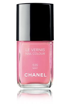 Chanel perfectly pink nail polish in May (my birth month).  Want want want.