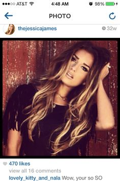 long hair color and style, beauti hair, ombre hair, new hair, blonde highlights