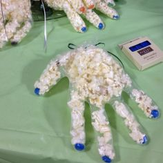 Zombie Hands for A kids bday party.