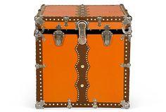Magic Theatrical Cube Trunk, C. 1890