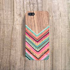 Chevron iPhone 4 Case iPhone 5 Case Wood Print by casesbycsera, $19.99