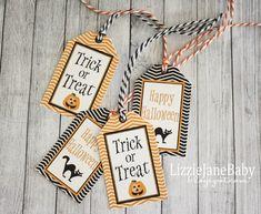 Free Printable Halloween Tags - #halloween #free #tags