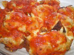 Receita de Bife à parmegiana assado - Carne Bovina