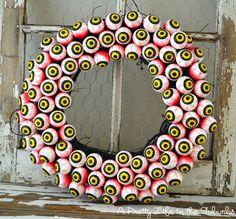 Another eyeball wreath