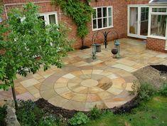 patio design, inspiration, garden patios, decks, driveway, buildings, gardens, garden idea, hous