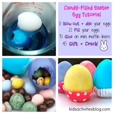 Filled egg Easter treats are easy to make, especially with this easy tutorial