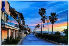 El Porto, ... Manhattan Beach ... CA   I used to exercise here on the strand every week...really miss it!