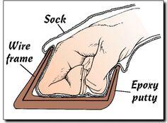 hoof gloves.