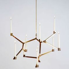 Agnes Hanging Candelabra by Roll