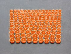 "Saatchi Online Artist: Mark Brooks; Oil, 2013, Painting ""Still Orange"""