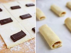 The Comfort of Cooking » 3-Ingredient Cheater's Chocolate Croissants