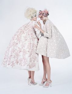 gemmalard: 'Couture's Outre Attitude' by Tim Walker for W, April 2013