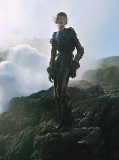 Fashiontography: Kristen McMenamy by Tim Walker