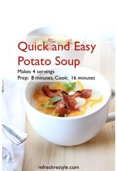 Potato Soup. #soup #