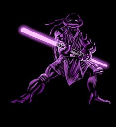 Loving this!! If The 'Teenage Mutant Ninja Turtles' Were Jedi Knights… - DesignTAXI.com