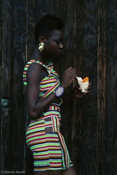 style, african chic, natur, fli cur, beauti