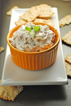 Easy Chipped Beef Dip from @jen @ Juanita's Cocina
