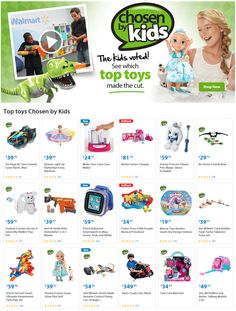 Walmart released their 2014 Hot Toys List!