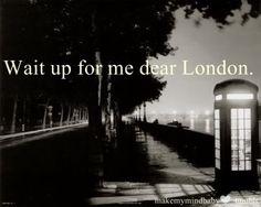 One day I WILL return.
