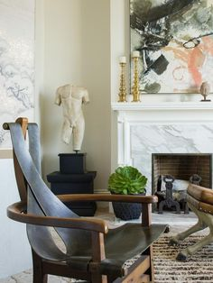 Eclectic Living-rooms from Matthew MacCaul on HGTV