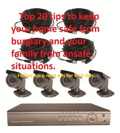This Home Video Surveillance Systems has full networking capability ...
