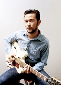 beards, this man, peopl, joseph gordonlevitt, god, joseph gordon levitt, men, guitars, jgl