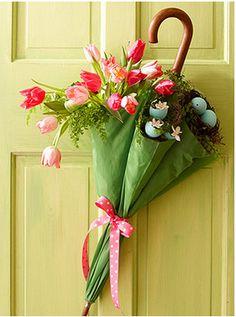 Adorable door decoration!