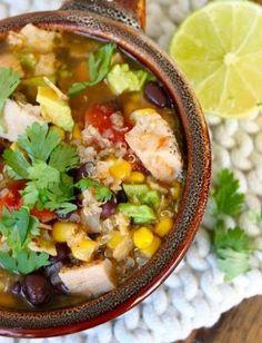 Hearty Chicken Tortilla Soup