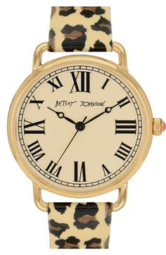 """Betsey Johnson :vintage time"""" Watch"""
