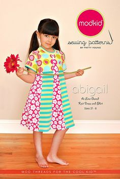 """""""Abigail"""" Boutique Sewing Pattern for Modkid by Patty Young"""