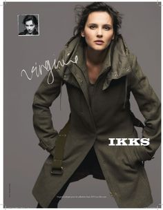 Virginie Ledoyen for IKKS