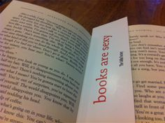 The greatest bookmark in the world, courtesy of The Coffin Factory: http://thecoffinfactory.com/