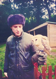 Arthur & an owl.  I'll just leave this here.