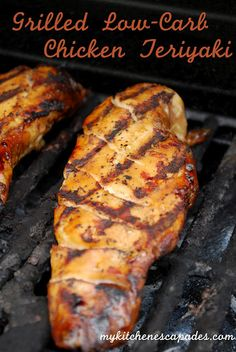 Grilled Low Carb Chicken Teriyaki - great for the freezer as well!