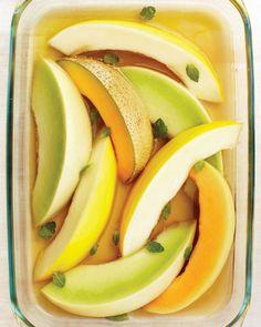 Tea-Scented Melon Recipe