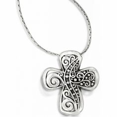 Love Affair Reversible Cross Necklace