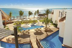 Our beautiful, boutique resort, Azul Beach Hotel, by Karisma in Riviera Maya, Mexico @Dreamscape Travel Group, Llc.  ..#DreamscapeTravelGroup @DreamscapeVac4U Let Dreamscape Travel Group help plan your next destination wedding, honeymoon or vacation getaway, Call 224 265 0197