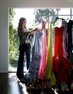 Rachel Zoe's closet....one of many!