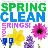 ring today, spring clean, banner idea, jewelri secret