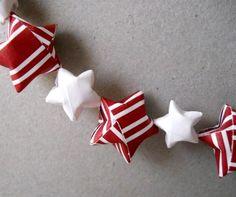 Christmas DIY star garland