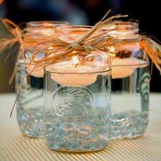 Centerpiece idea for wedding :)