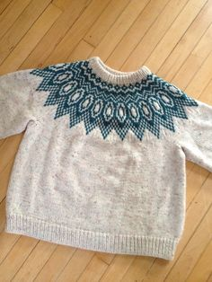 knitted by Hannah Fettig's grandmother