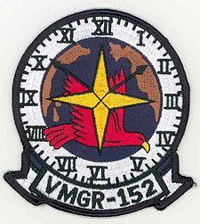 "Marine Aerial Refueler Transport Squadron 152 (VMGR-152), Marine Corps Base Futenma Okinawa Japan. ""Sumos"""