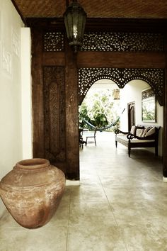 Gorgeous Indonesian Interior. Taste and class in Simplicity