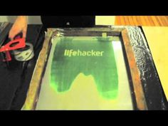 A Simple Guide to Screen Printing Your Own Shirts -