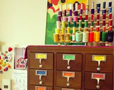 10 Fun Uses for Old Card Catalogs |