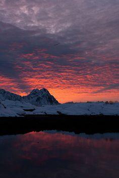 Early morning in Lofoten, Norway